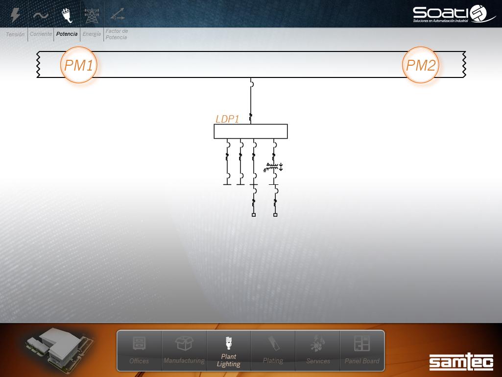 Sreen pm1-pm2 plant ligting diagrama planta01C